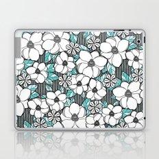 Midnight Magnolias Laptop & iPad Skin
