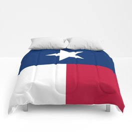 State flag of Texas, official banner orientation Comforters
