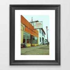 Yakima Laundromat Framed Art Print