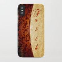 faith iPhone & iPod Cases featuring Faith by Robin Curtiss