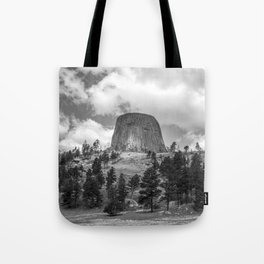 The Devils Tower Tote Bag