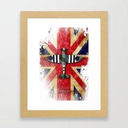 Spitfire Mk.IX Framed Art Print