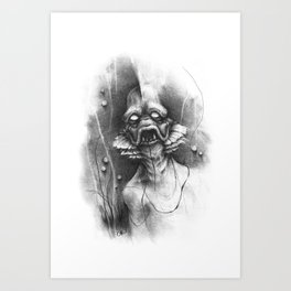 The Shadow from Beneath Art Print