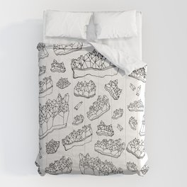 White Amethyst Comforters