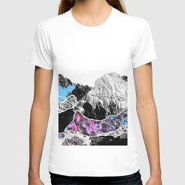 Floral landslide T-shirt