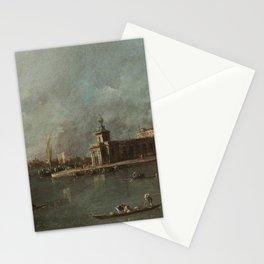 Francesco Guardi - The Dogana, Venice Stationery Cards