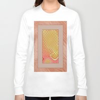 frame Long Sleeve T-shirts featuring Frame by Fine2art
