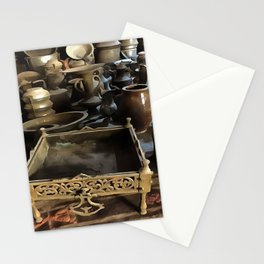 Handcrafted Tin And Copper Kitchenwares Stationery Cards