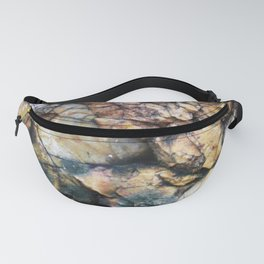 Jagged Rock Texture Fanny Pack