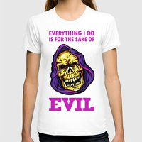 evil T-shirts featuring EVIL by DesecrateART (Infected)
