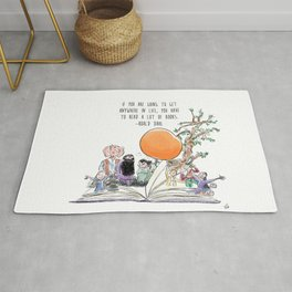 Roald Dahl Day Rug