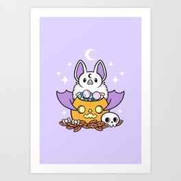 Pumpkin Bat Kunstdrucke