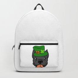 Leprechaun Pitbull - St. Patricks Day Backpack