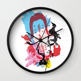 Beach Party Wall Clock
