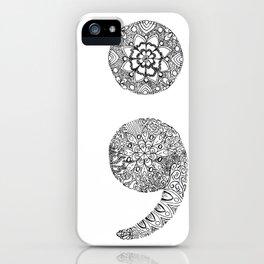 Semicolon iPhone Case