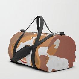 Dog dreaming about bonelet Duffle Bag