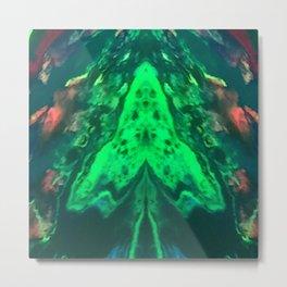 Hypnotic invader Metal Print