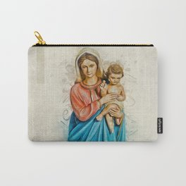 Virgin Mary And Jesus Carry-All Pouch