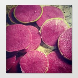 Colorful Beets Canvas Print