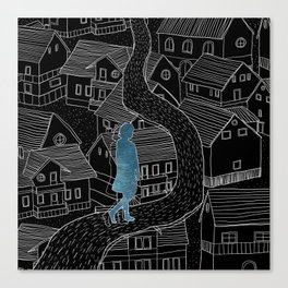 Dream walker / Illustration Canvas Print