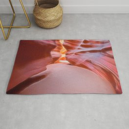 Geology Alive - Following Life Force Lines of Antelope Canyon Rug