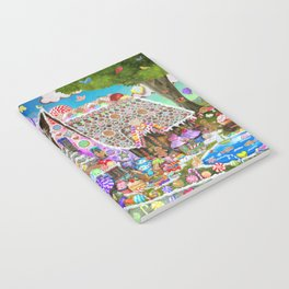 The Gingerbread Mansion Notebook