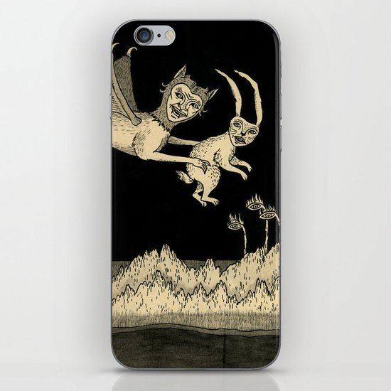 An Abrupt Farewell iPhone & iPod Skin