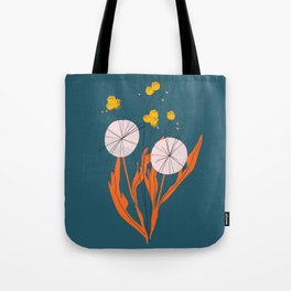 Wildflowers Dancing at Dusk Tote Bag