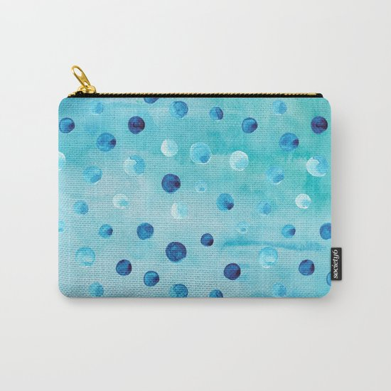 Polka Dot Pattern 03 Carry-All Pouch