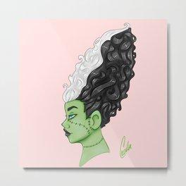 Frankenstein's Bride Metal Print