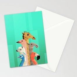 Long necks Stationery Cards