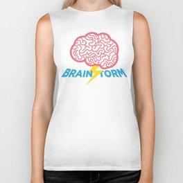 Brain Storm Biker Tank