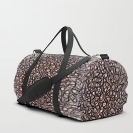 The Web Of Theatrical Neurons Duffle Bag