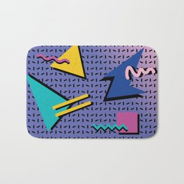 Memphis Pattern 9 - 90s - Retro Bath Mat