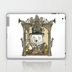 Polarbear Warden with Steampunk Frame Laptop & iPad Skin