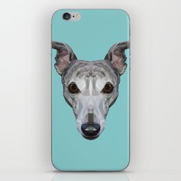 Whippet // Blue iPhone Skin