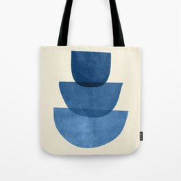 Abstract Shapes 37-Blue Tote Bag