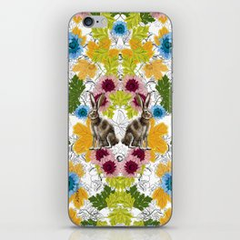 Alicia en los Tropicos by Rehcy iPhone Skin