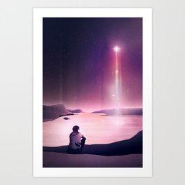 Rising Star Art Print