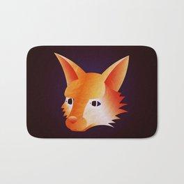 Red Little Fox Bath Mat