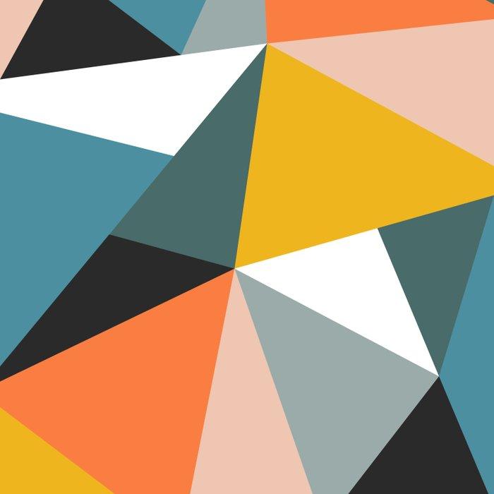 Modern Geometric 36 Bettbezug