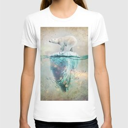 Polar Bear Adrift T-shirt