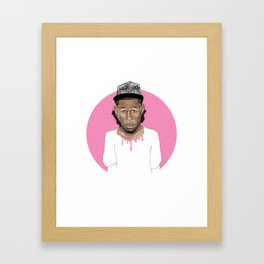 Tyler the Creator Framed Art Print