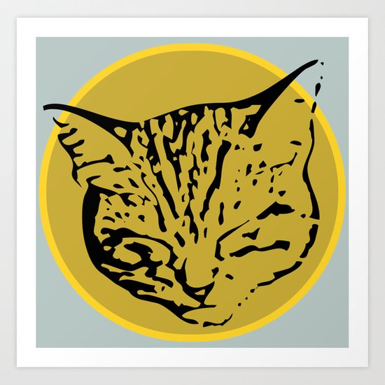 cathead Art Print