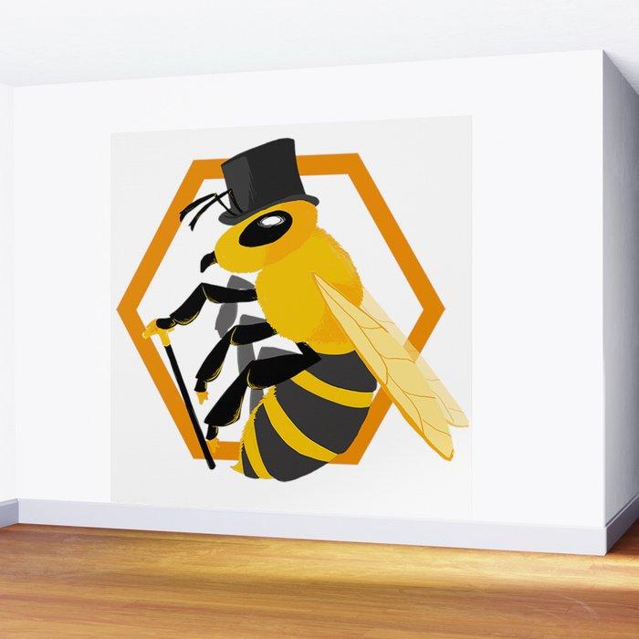 Bee Fancy Wall Mural