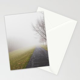 Fog in the neighborhood Stationery Cards