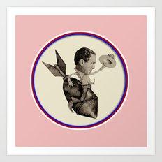 Bush riding the Bomb Art Print