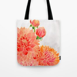 Pacey colorful bouquet Tote Bag