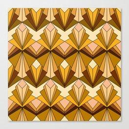 Art Deco meets the 70s Canvas Print