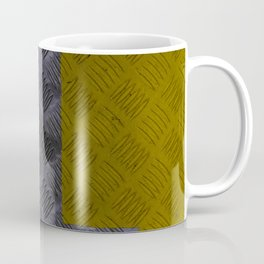 Industrial Arrow Tread Plate - Down Coffee Mug